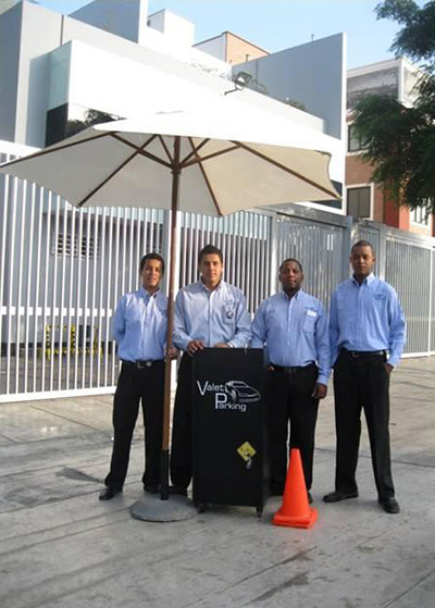 City Parking S.A.C. trabajadores de valet parking