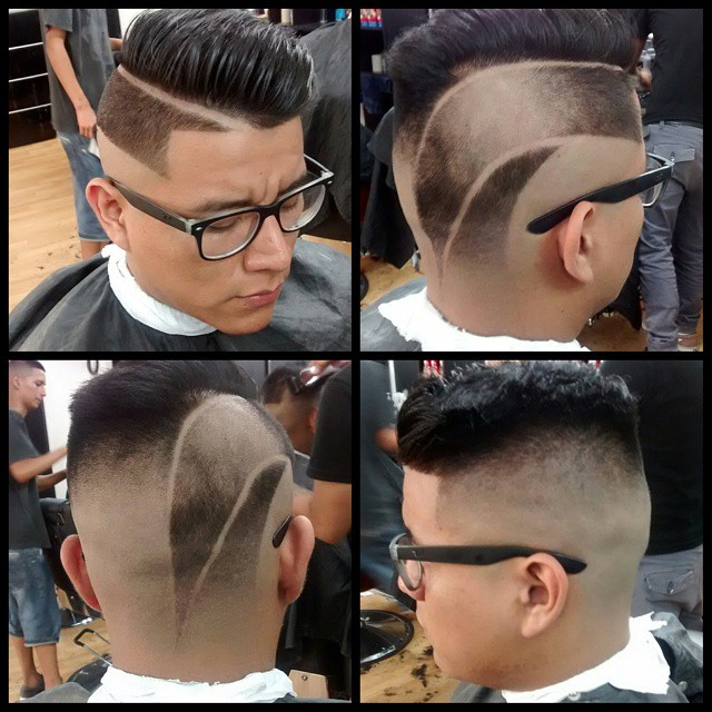 Top Level Barber Shop shutter fade
