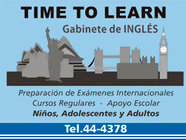 Time to Learn imagen informativa