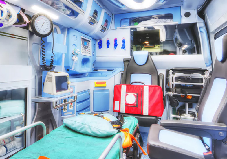 Trasmedical S.R.L. interior ambulancia
